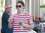 Jennifer Garner : Violet et Seraphina, adorables, dégustent une glace