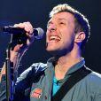 Chris Martin de Coldplay à Cologne, le 15 décembre 2011.
