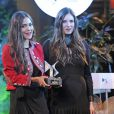 Tatiana Santo Domingo (au côté de sa partenaire Dana Alikhani), fiancée d'Andrea Casiraghi, a révélé officiellement sa grossesse, enceinte de six mois, lors de la soirée des Telva Fashion Awards organisée dans un palace de Madrid le 6 novembre 2012. La princesse Caroline de Hanovre deviendra grand-mère en janvier 2013.