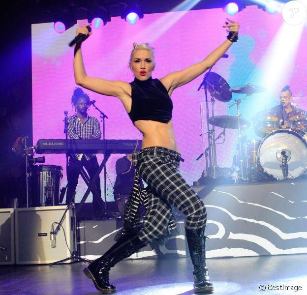 Gwen Stefani au sommet de sa forme avec No Doubt en concert unique le 6 novembre 2012 à la Maison de la Mutualite, à Paris, lors du concert privé HP Music Connected pour présenter le nouvel album Push and Shove, mais aussi jouer leurs anciens tubes...