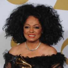 Diana Ross à Los Angeles, le 12 février 2012.