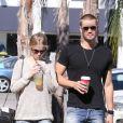 Exclusif - Le comédien Chad Michael Murray et sa petite amie Kenzie Dalton se promènent à Studio City, le 6 novembre 2012.
