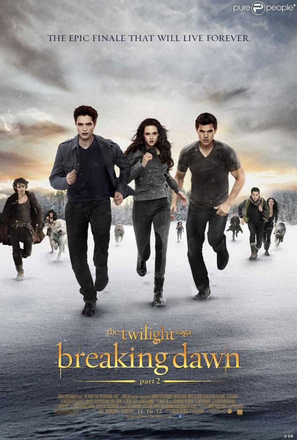 Poster du film Twilight - chapitre 5 : Révélation (2e partie)