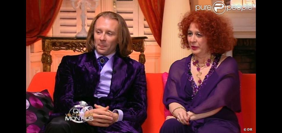Pascale et Morgan dans Qui veut épouser mon fils ? 2, vendredi 2 novembre 2012 sur TF1