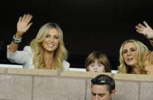 Claudine Keane : Sublime avec son fils Robert pour applaudir son mari Robbie