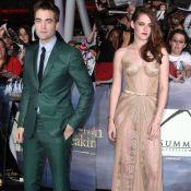 Twilight : Robert Pattinson et Kristen Stewart élégamment dénudée, le duo réuni