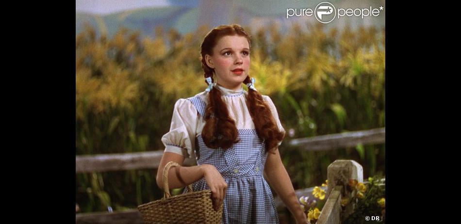 Image du film Le Magicien d'Oz avec Judy Garland et sa fameuse robe