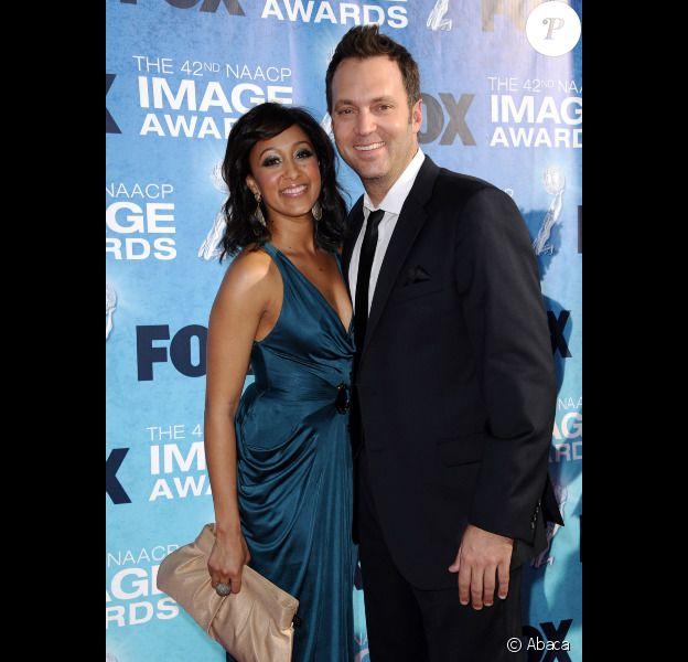 Tamera Mowry et Adam Housley, à Los Angeles, en mars 2011.
