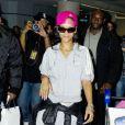 Rihanna arrive à l'aéroport de Toronto. Le 15 novembre 2012.