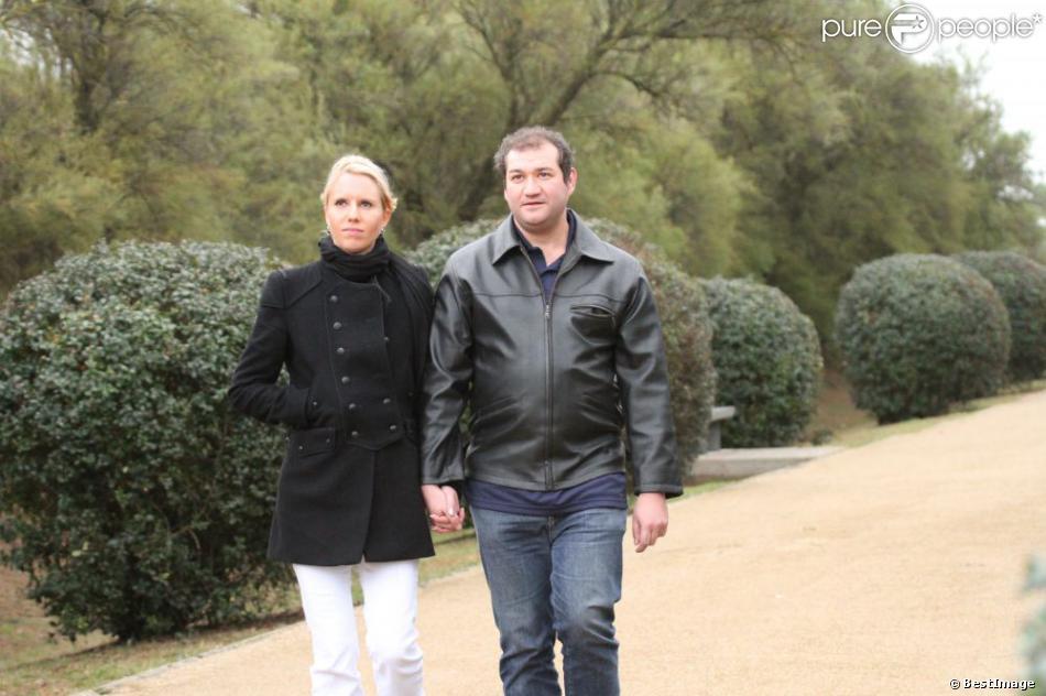 EXCLU : Cindy et Frédéric se promènent sur l'Île d'Oléron, dans  Qui Veut Epouser Mon Fils ? , diffusé le 16 novembre 2012.