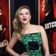 Scarlett Johansson, sublime comme à son habitude, sur le tapis rouge du film  Hitchcock , à New York, le 18 novembre 2012.