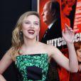 Scarlett Johansson sur le tapis rouge du film  Hitchcock , à New York, le 18 novembre 2012.