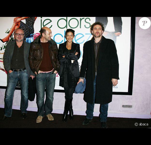 Kad Mérad;Olivier Baroux;Mélanie Doutey et Jean-Paul Rouve