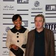 En parallèle de la projection Weinstein de  Happiness Therapy , Robert De Niro et sa femme Grace Hightower sont à Doha au TriBeCa Film Festival pour assurer la promotion du film.