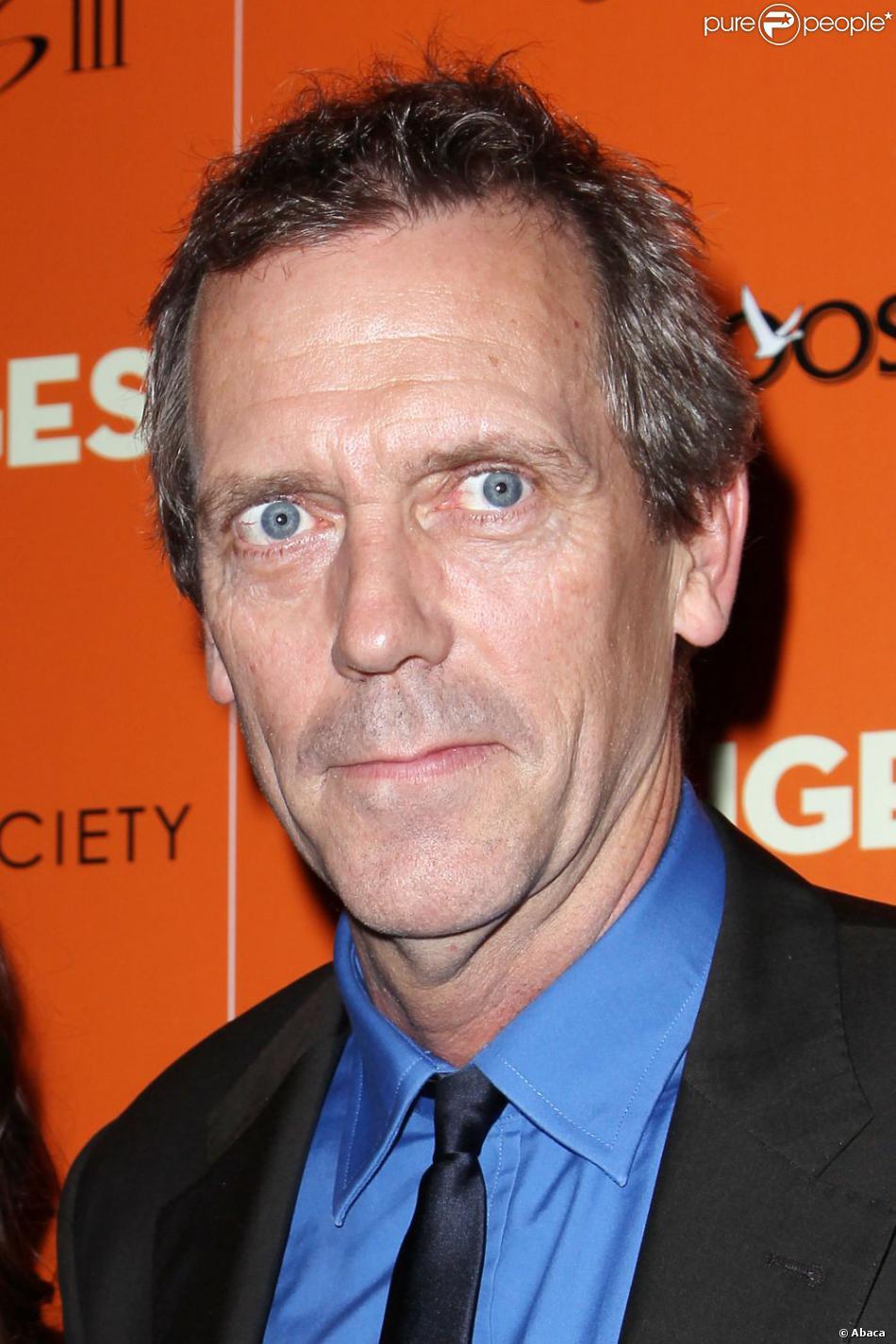 Hugh Laurie à New York le 14 septembre 2012.