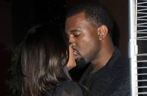Kim Kardashian et Kanye West : Un baiser passionné après un dîner en famille