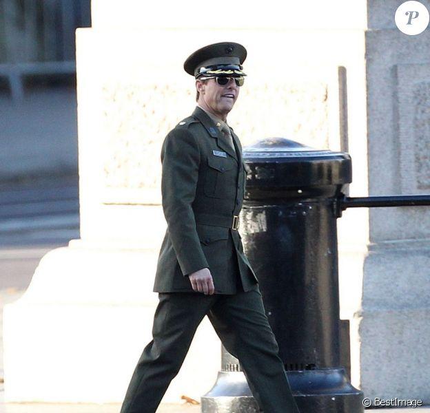Tom Cruise sur le tournage du film All You Need is Kill à Londres, le 25 novembre 2012.