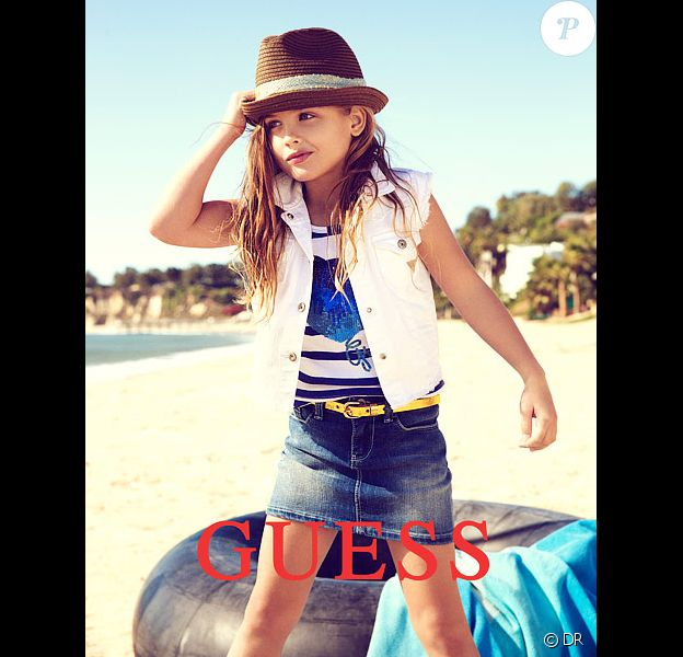 En 2012, Dannielynn Birkhead, fille d'Anna Nicole Smith, devient elle aussi l'égérie de la marque Guess pour sa ligne enfant.