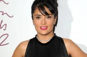 Salma Hayek, Dita Von Teese : Sexy et glamour en noir aux British Fashion Awards