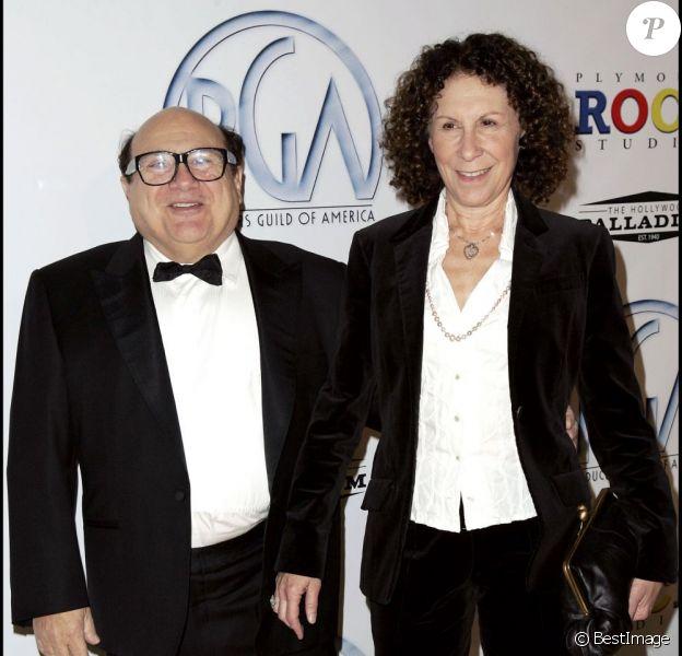 Danny DeVito et son épouse Rhea en 2009