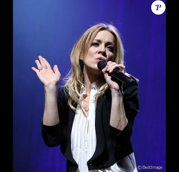 Véronic DiCaire se donne en spectacle à l'Olympia à Paris le 27 Novembre 2012