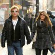Jon Bon Jovi se promène à New York avec sa femme Dorothea le 29 novembre 2012.