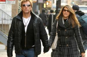 Jon Bon Jovi : Détente en amoureux après l'overdose de sa fille