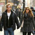 Jon Bon Jovi à New York avec sa femme Dorothea le 29 novembre 2012.