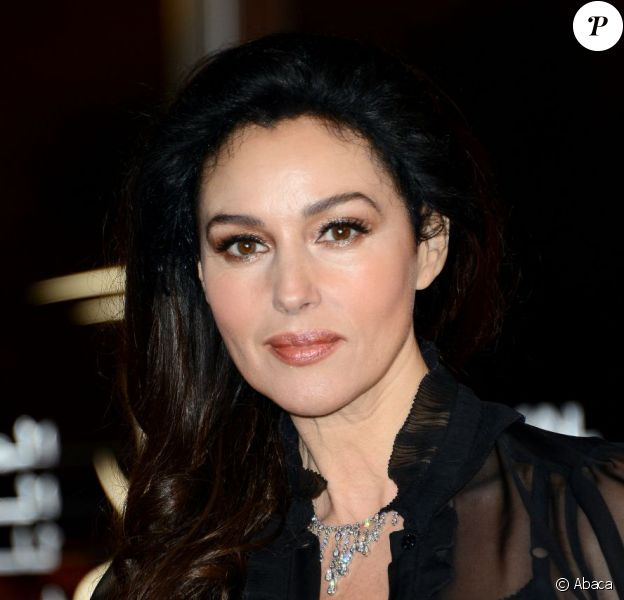 La belle Monica Bellucci à l'hommage au Cinéma Hindi lors du Festival International du Film de Marrakech, le 1er Decembre 2012.