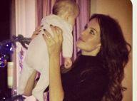 Jade Foret : Maman comblée, elle présente sa petite Liva