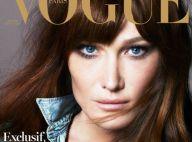 Carla Bruni amoureuse dans Vogue : Nicolas Sarkozy ''a mis fin à une solitude''