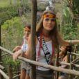 Miss Rhône-Alpes à l'île Maurice avant la grande soirée Miss France 2013 le samedi 8 décembre 2012 sur TF1