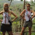 Miss Picardie et Miss île-de-France à l'île Maurice avant la grande soirée Miss France 2013 le samedi 8 décembre 2012 sur TF1