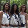 Les Miss Saint-Martin, Lorraine et Nouvelle-Calédonie avant le grand soir de l'élection Miss France 2013 le samedi 8 décembre 2013 sur TF1