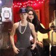 Justin Bieber et Selena Gomez quittent le restaurant japonais Yamato à Encino, le 16 novembre 2012.