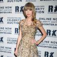 Taylor Swift très en beauté à la soirée des Ripple of Hope Awards, le 3 décembre 2012 à New York.
