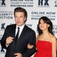 Alec Baldwin et sa femme Hilaria Thomas à la soirée des Ripple of Hope Awards, le 3 décembre 2012 à New York.