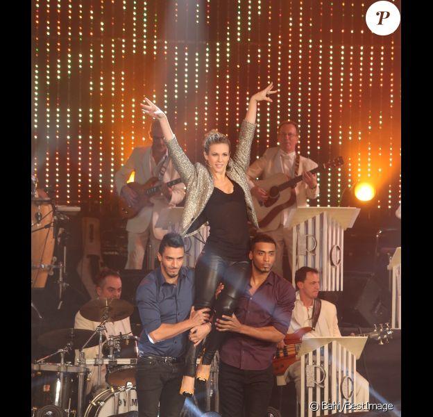 Lorie participe à l'enregistrement de l'émission 'Les Années bonheur' le 6 Novembre 2012 et qui sera diffusée le 5 janvier 2013.