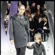 Hudson Kroenig est un habitué des défilés Chanel. Ici, au Grand Palais, le 6 mars 2012