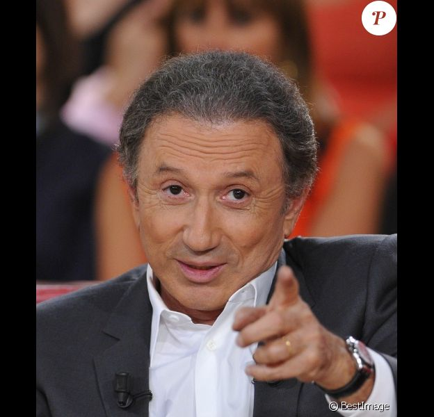 Michel Drucker, en septembre 2012 sur France 2.