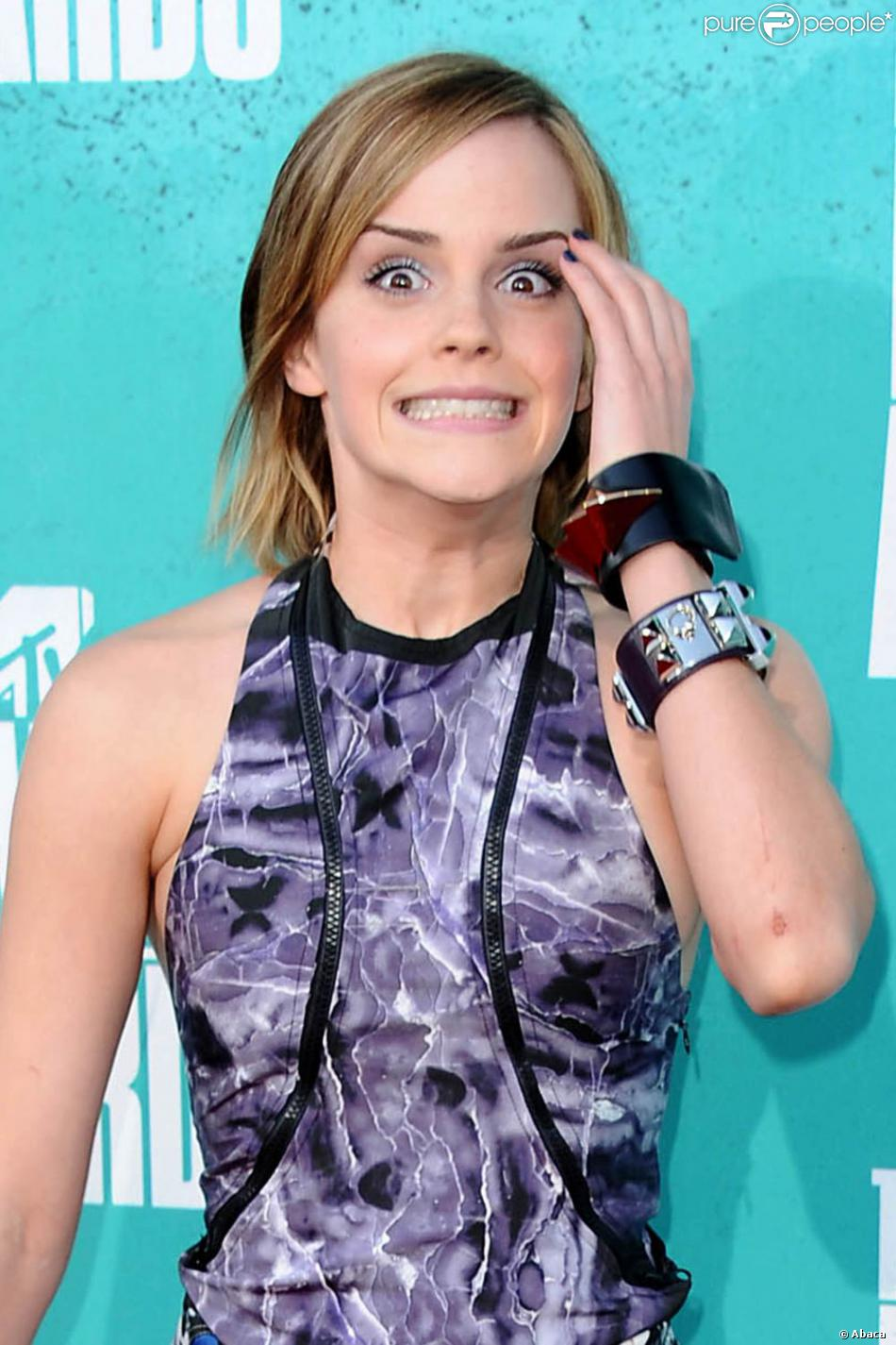 Emma Watson lors des MTV Movie Awards, le 3 juin 2012.