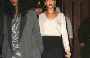 Rihanna : Sexy jusqu'au bout des pieds pour une sortie entre filles