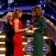 Jessica Ennis avec Kate Middleton lors de la soirée BBC Sports Personality Of The Year 2012 à Londres le 16 décembre 2012. La championne olympique a battu la soeur de la duchesse pour le titre du postérieur de l'année.