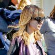 Exclusif - Nicole Richie et son fils Sparrow quittent l'El Rey Theater à Los Angeles. Le 19 décembre 2012.