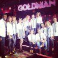 Alizée, Lorie, Tal, Shy'm, Amel Bent, M.Pokora, Corneille, Chimène Badi... La jeune génération reprend les titres de Jean-Jacques Goldman lors de l'enregistrement d'une émission spéciale, le 17 décembre 2012.