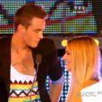 Julien et Fanny lors de la grande finale de Secret Story 6, vendredi 7 septembre 2012 sur TF1