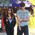 Ashton Kutcher et Mila Kunis le 26 octobre 2012 à Los Angeles