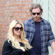 Jessica Simpson et son fiancé Eric Johnson à Los Angeles, le 12 décembre 2012.