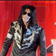 Michael Jackson annonce une série de concerts, le 5 mars 2009 à Londres.