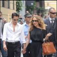 Jenifer Lopez et Marc Anthony : shopping à milan